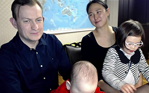 'BBC Dad' Reveals Everything You Wanna Know About *That* Interview