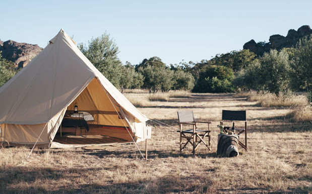 You Can Camp Under The Stars At This Chic Pop-Up In A VIC National Park