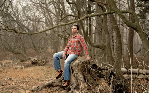 Donald Trump Jr. Posing In The Woods Became A Huge & Glorious Meme