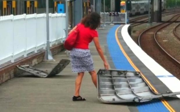 A Sydney Train Literally Exploded All Over A Station Platform This Arvo