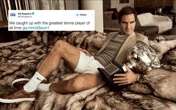 Serena Williams Fans Are Pissed GQ Called Roger Federer The Tennis GOAT