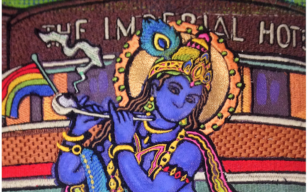 Hindus Ask Syd Artist To Bin Piece Showing Krishna Smoking Meth