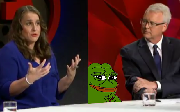 WATCH: Welp, 'Q&A' Singled Out Memes As A Legitimate Political Force