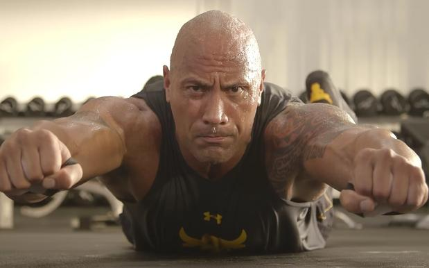 This Vid Of The Rock's Daily Workout Routine Proves He's A Concrete Slab