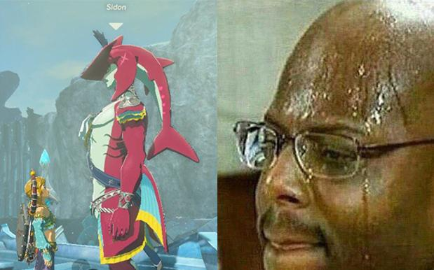 A Whole Lot Of People Want To Fuck A Shark Man From 'Breath Of The Wild'