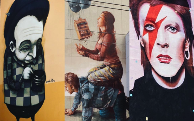 The Most Beaut Street Art Murals To Stop By In Australia's Capital Cities