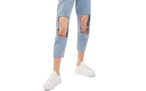 TopShop's New Jeans Are Perf If You Keep Forgetting What Ya Knees Look Like