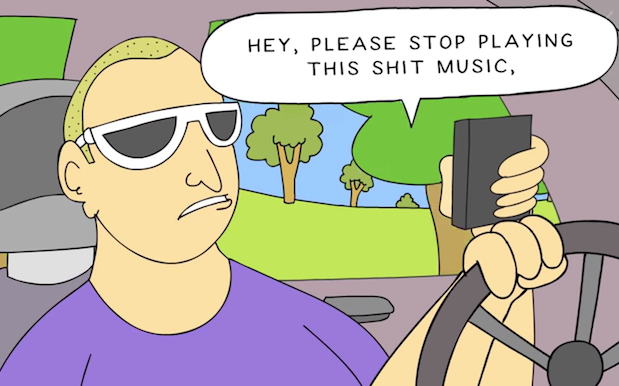 WATCH: 'Ciggy Butt Brain' Creator Tackles Triple J's Text-Line Abusers