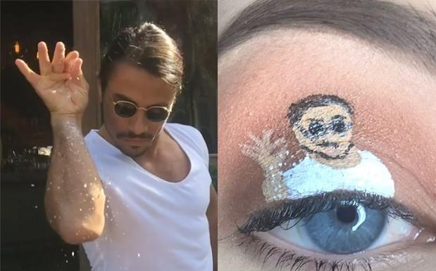 People Are Making Their Faces Go Viral With Meme Eye Makeup