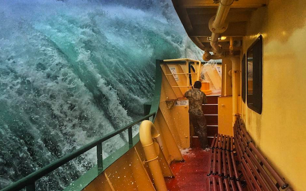 Sydney Ferries Says To Forgeddabout Taking Your Own Gnarly Wave Photo