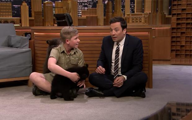 WATCH: Robert Irwin Returned To 'The Tonight Show,' This Time With Bears