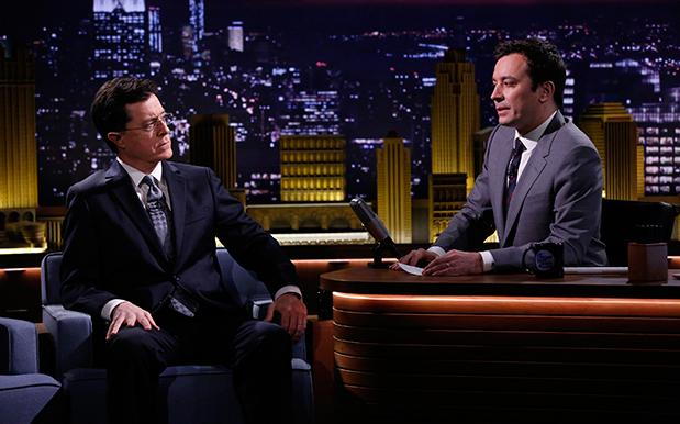 Colbert Chucks A Pizza Party Every Time He Wallops Fallon In The Ratings