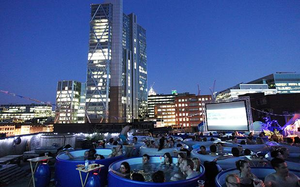 Sydney's Getting A 'Hot Tub Cinema' Soon If Being Human Soup Sounds Good
