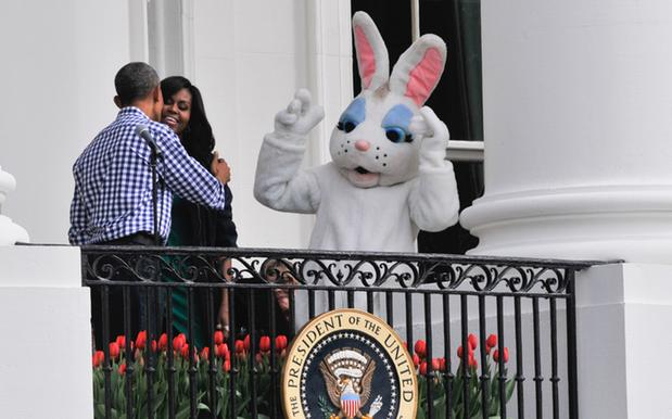 Looks Like Trump Can't Even Organise The Annual White House Easter Egg Roll
