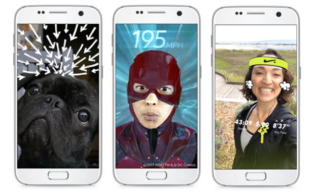 Facebook's Out For Snapchat's Blood With Super Insane New Camera Effects