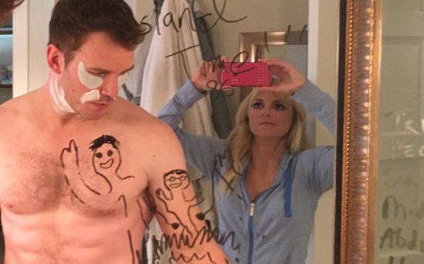 Anna Faris Gives Fans Blow-By-Blow Of Day In Her Life W/ Bonus Chris Pratt