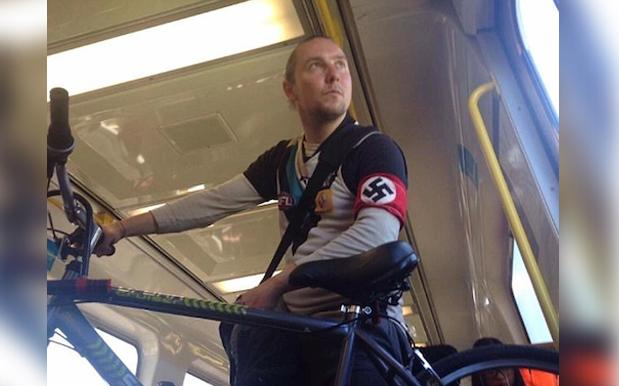 Port Adelaide Asked By AFL To Investigate Fuckwit Fan Wearing Nazi Armband
