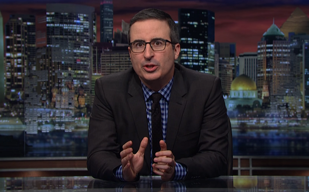 John Oliver Is Legit Buying TV Ads To Teach Trump About Sexual Harassment