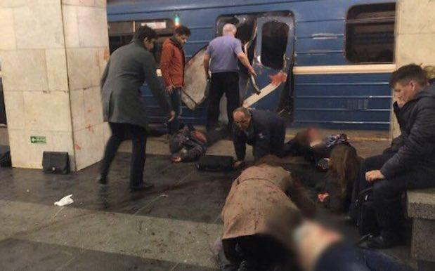 10 Reported Dead After Suspected Bomb Blast In St Petersburg Train Stations