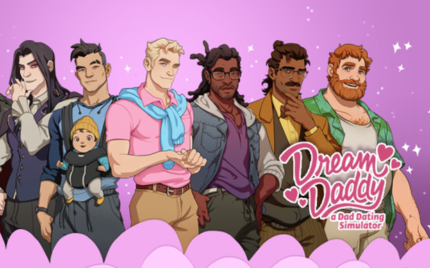 'Dream Daddy' Is The Dating Sim Where Hot Dads Smang Other Hot Dads