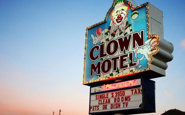 America's 'Most Haunted' Clown Motel Is Up For Sale, With 1 Creepo Condition