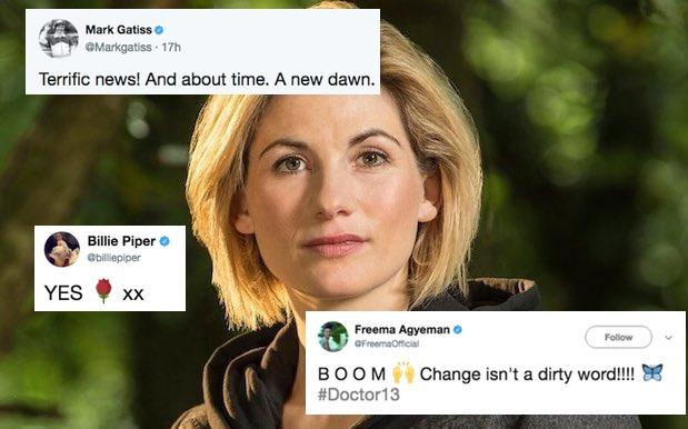 Doctor Who's Cast & Crew Are Fkn Stoked About Finally Getting A Female Doc