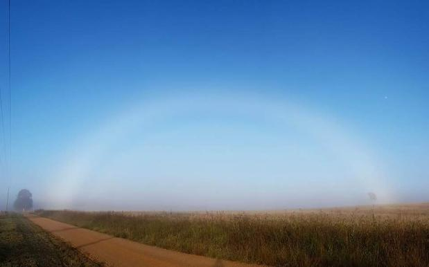 RAINBOWS SCHMAINBOWS: QLD's Summery Storms Give Birth To All-White Fogbows