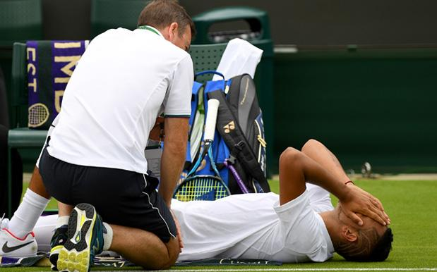 Nick Kyrgios Bows Out Of Wimbledon In 1st Round Due To Chronic Hip Injury