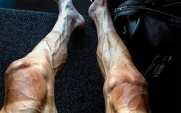 The Leathery, Scrotal Gams On This Tour De France Cyclist Will Fuck You Up