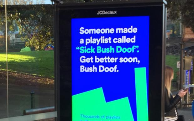 Extremely Good Spotify Ads Are Popping Up All 'Round Australian Cities