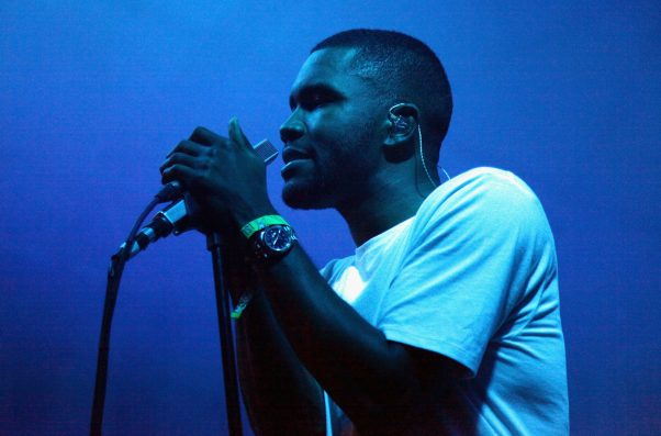 Year after album, Frank Ocean drops mellow new track