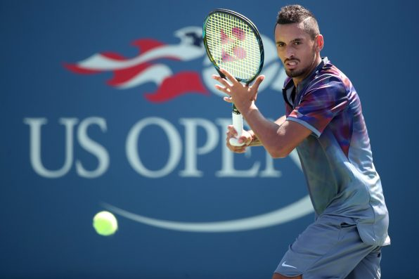 Nick Kyrgios admits he's 'not dedicated at all' after US Open exit