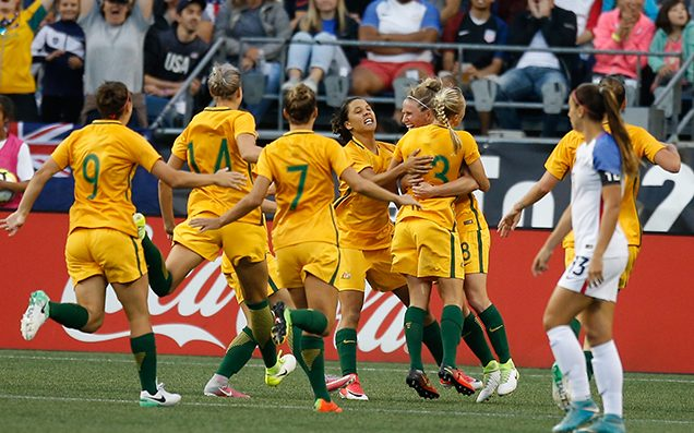 Our Matildas Fucking Thumped Brazil 6-1 To Claim The Tournament Of Nations
