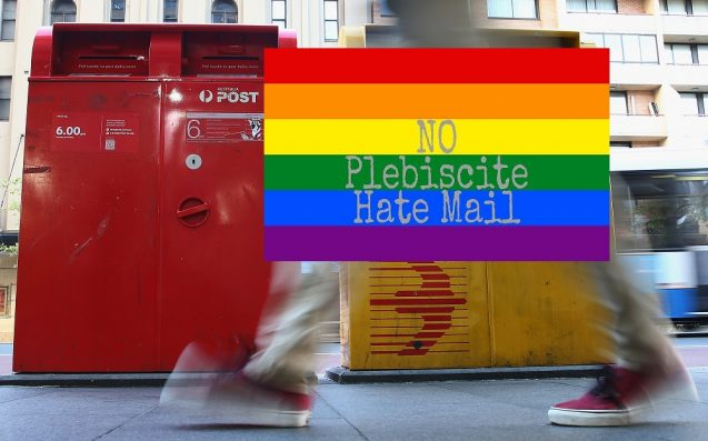 A Bloody Legend Has Made A 'No Hate Mail' Sticker To Get You Through The Plebiscite