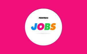 FEATURE JOBS: Pedestrian.TV, Bond Eye Australia, LifeSketch Films + More
