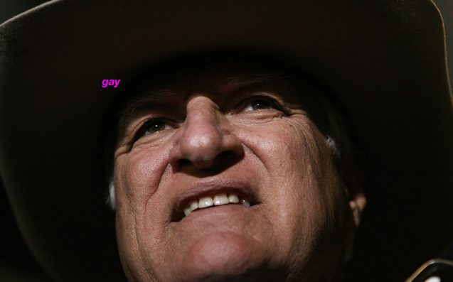 Bob Katter Wants To Reclaim The Word 'Gay' Because It's His Favourite