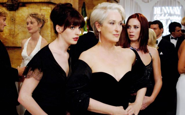 This deleted scene from The Devil Wears Prada is going viral