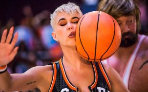 Katy Perry Assembles Strange Crew Of US Celebs To Play Basketball Together