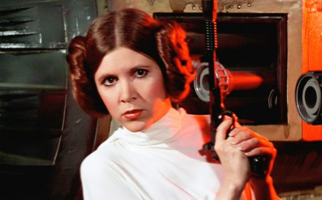 Carrie Fisher's Princess Leia had a PhD at the age of 19
