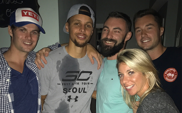 Steph Curry Crashed A Random House Party To Sink Cheap Frothies Like Threes