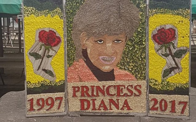 A UK Council Has Unveiled A Princess Di Mural So Awful It Must Be A Gee Up