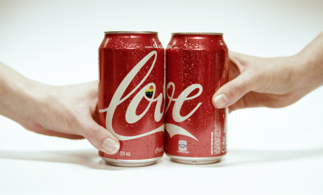 Coke Is Donating Profits From These Adorable New 'Love' Cans To Support SSM