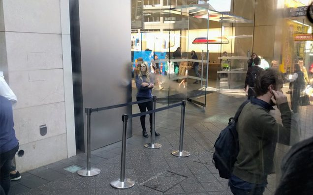 The Release Of The New iPhone Has Attracted Lines Of Sweet Fuck All