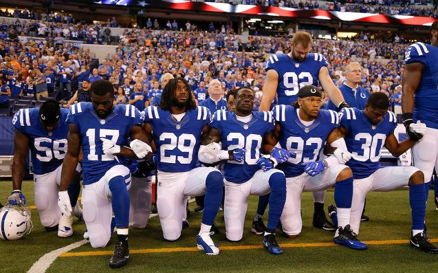 Over 100 NFL Players Kneel During Anthem After Trump's Rage At Protests