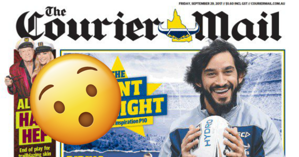 Well Fuck Us Sideways, The Courier-Mail Just Backed 'Yes' On SSM