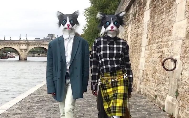 This Vogue Video Fashion Shoot W/ Models In Animal Masks Is 100% Nightmares
