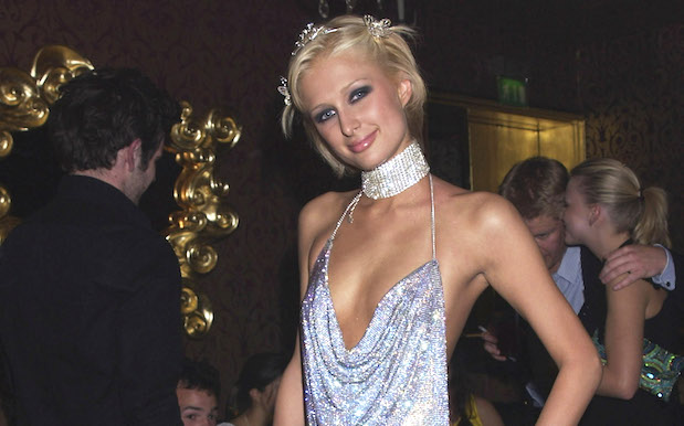 That Paris Hilton 2002 Glomesh Party Dress Is Officially On Trend Again