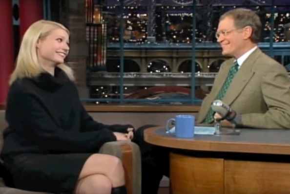Gwyneth Paltrow & Letterman Discussed Harvey Weinstein's BS Way Back In '98