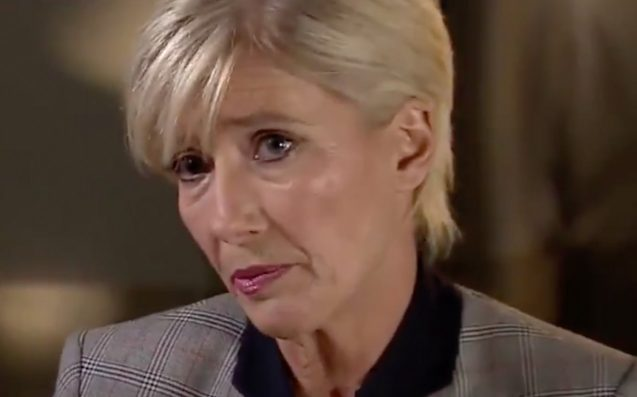 "Emma Thompson Calls Weinstein A Predator & Just The ""Tip Of The Iceberg"""