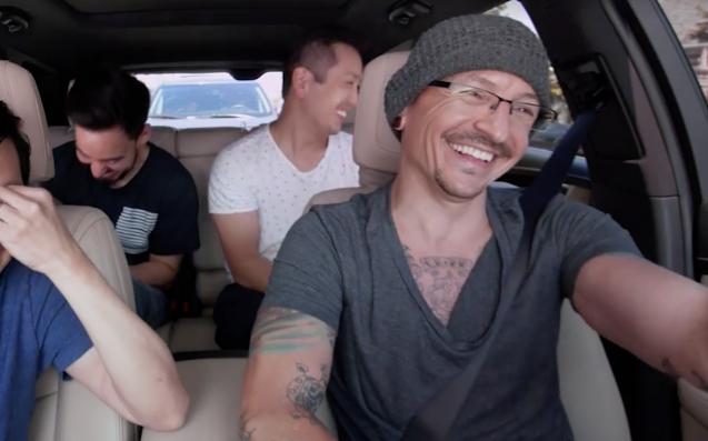 Chester Bennington & Linkin Park's 'Carpool Karaoke' Has Just Been Released